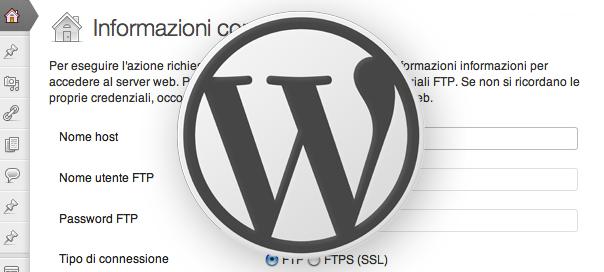 WordPress e FTP - Sickbrain.org