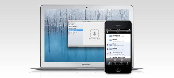 Trasferire file sull'iPhone wi-fi e senza iTunes