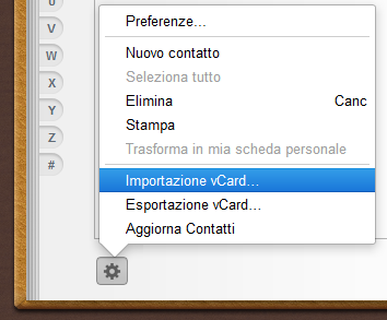 how to create a vcard on iphone