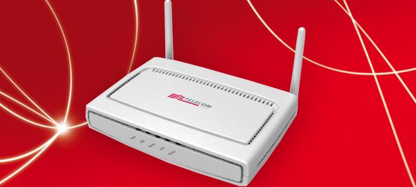 Connessione tra Telecom ADSL2+ Wi-Fi N e Mac OS X