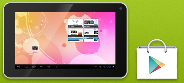 Installare Google Play su tablet Dicra